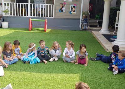 Teaching outside 3