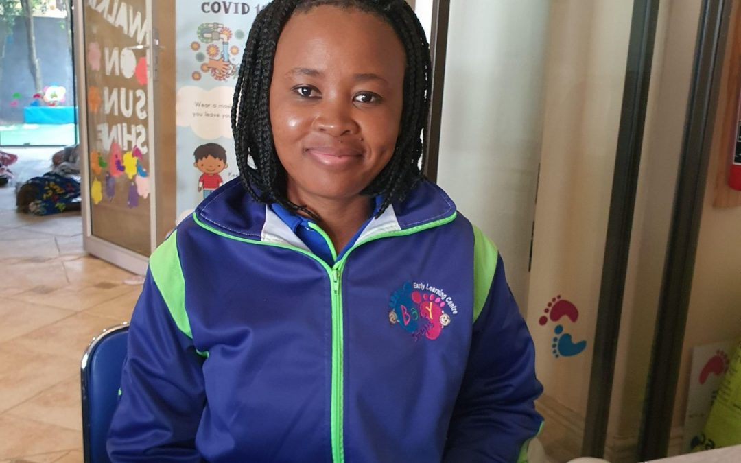 Empowered through Baby Steps Early Learning Centre: Pretty Dube's Story