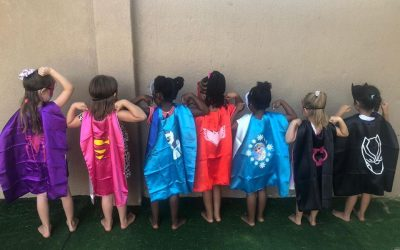 "Baby Steps to big words – ""If your mom had a superpower what would she have?"""